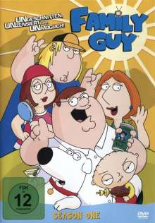 Family Guy Season 1, 2 DVDs