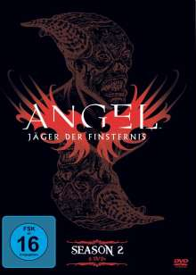 Angel Season 2, 6 DVDs