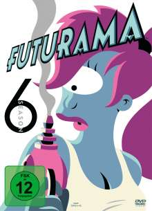 Futurama Season 6, 2 DVDs