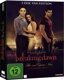 Twilight: Breaking Dawn - Bis(s) zum Ende der Nacht Teil 1 (Fan Edition), 2 DVDs