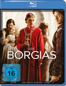 Die Borgias Season 1 (Blu-ray), 3 Blu-ray Discs