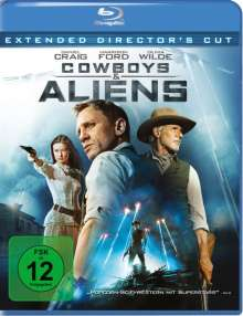Cowboys & Aliens (Blu-ray), Blu-ray Disc