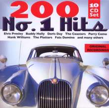 Various Artists: 200 No.1 Hits, 10 CDs