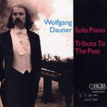 Wolfgang Dauner  (geb. 1935): Tribute To The Past: Solo Piano (180g) (Limited Edition) - signiert, LP