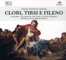 Georg Friedrich Händel (1685-1759): Clori,Tirsi e Fileno-Kantate, CD