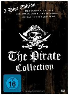 Pirate Collection, 3 DVDs