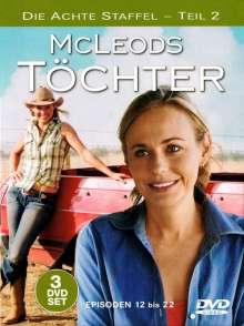 McLeods Töchter Staffel 8 Box 2, 3 DVDs