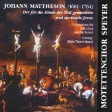 Johann Mattheson (1681-1764): Brockes-Passion, 3 CDs