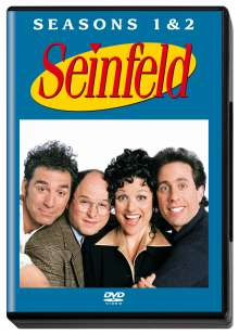 Seinfeld Season 1 & 2, 4 DVDs