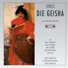Sidney Jones (1861-1946): The Geisha (in dt.Spr.), 2 CDs
