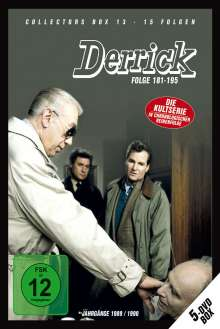 Derrick Collector's Box Vol.13 (Folgen 181-195), 5 DVDs