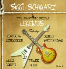 Siggi Schwarz: Siggi Schwarz & The Electricguitar Legends, CD