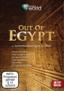 Out Of Egypt, 2 DVDs