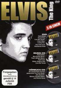 Elvis Presley: Elvis The King (DVD + CD + Hörbuch-CD), DVD