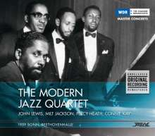 Modern Jazz Quartet: 1959 Bonn, Beethovenhalle, CD