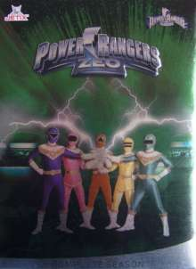 Power Rangers Zeo - Complete Season, 6 DVDs