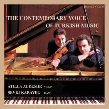 Atilla Aldemir - The Contemporary Voice of Turkish Music, CD