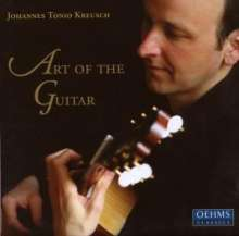 Johannes Tonio Kreusch - Art of the Guitar, 4 CDs
