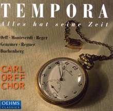 Carl Orff Chor - Tempora, CD