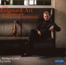 The Enigmatic Art of Antonio and Francesco Maria Veracini, CD