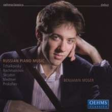 Benjamin Moser - Russian Piano Music, CD