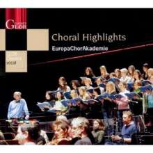 EuropaChorAkademie - Choral Highlights, CD