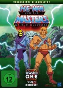 He-Man and the Masters of the Universe Season 1 Vol.1, 3 DVDs