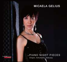 Micaela Gelius - Piano Night Pieces, CD