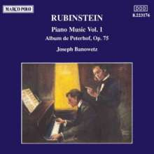 Anton Rubinstein (1829-1894): Klavierwerke Vol.1, CD
