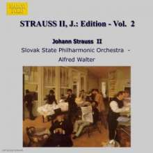 Johann Strauss II (1825-1899): Johann Strauss Edition Vol.2, CD