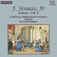 Johann Strauss II (1825-1899): Johann Strauss Edition Vol.4, CD