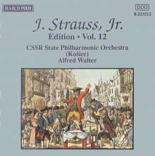Johann Strauss II (1825-1899): Johann Strauss Edition Vol.12, CD