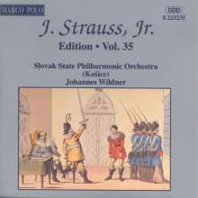 Johann Strauss II (1825-1899): Johann Strauss Edition Vol.35, CD