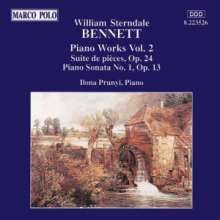 William Sterndale Bennett (1816-1875): Klavierwerke Vol.2, CD
