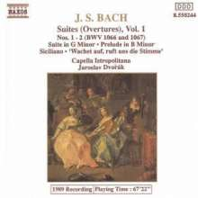 Bach, Johann Sebastian (1685-1: Suiten 1+2/Suite In G/+, CD