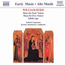 William Byrd (1543-1623): Masses for 4 & 5 Voices, CD