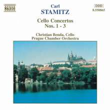 Carl Stamitz (1745-1801): Cellokonzerte Nr.1-3, CD