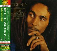 Bob Marley & The Wailers: Legend +2 (SHM-CD) (Limited Edition) (Reissue), CD