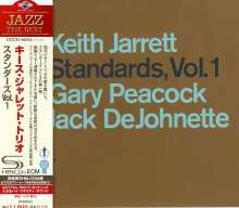 Keith Jarrett  (geb. 1945): Standards Vol. 1 (SHM-CD), CD