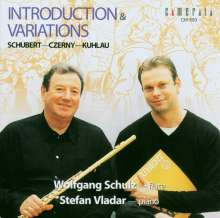 Wolfgang Schulz - Introduction & Varaitions, CD