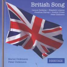 Meriel Dickinson - British Song, CD