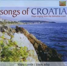 Klapa Cambi; Klapa Jelsa: Songs Of Croatia, CD