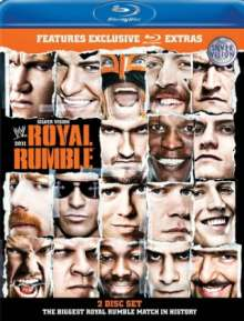 Wrestling: Royal Rumble 2011 (Blu-ray), Blu-ray Disc