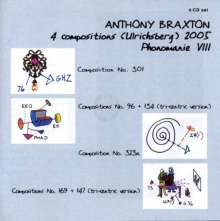 Anthony Braxton  (geb. 1945): 4 Compositions (Ulrichsberg) 2005, 4 CDs