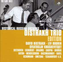 Oistrach Trio - Historical Russian Archives, 10 CDs