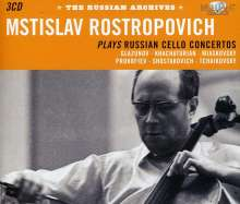 Mstislav Rostropovich - The Russian Archives, 3 CDs