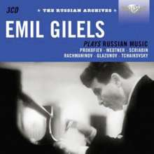 Emil Gilels - Russian Archives, 3 CDs