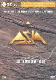 Asia: Live In Moscow 1990  (DVD + CD), DVD