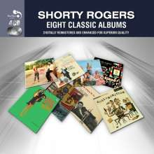Shorty Rogers  (1924-1994): Eight Classic Albums, 4 CDs