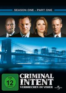Criminal Intent Season 1 Box 1, 3 DVDs